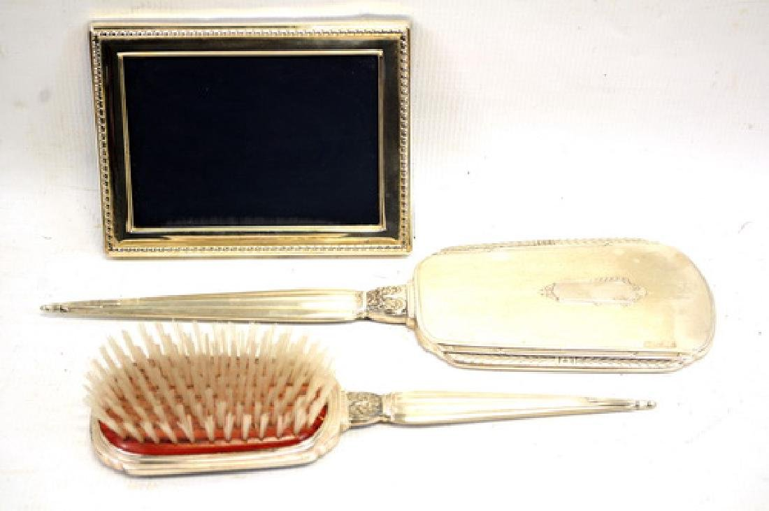 Antique Saart Brothers Sterling Vanity Set