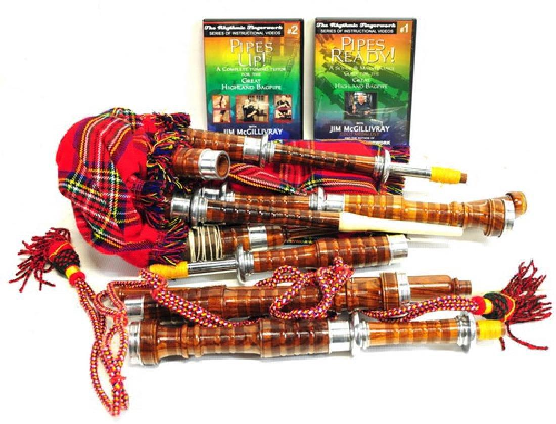 """1 """" Kintail"""" Scottish  bag pipe - 2"""