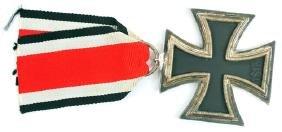 All Original WWII Nazi Iron Cross and Ribbon
