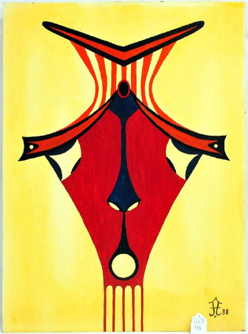 Acrylic On Board By Frank Diaz Escalet