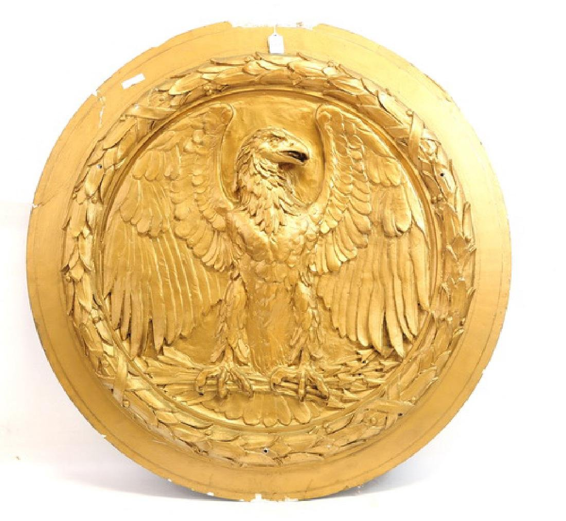 Golden Eagle Medallion from South Station Boston