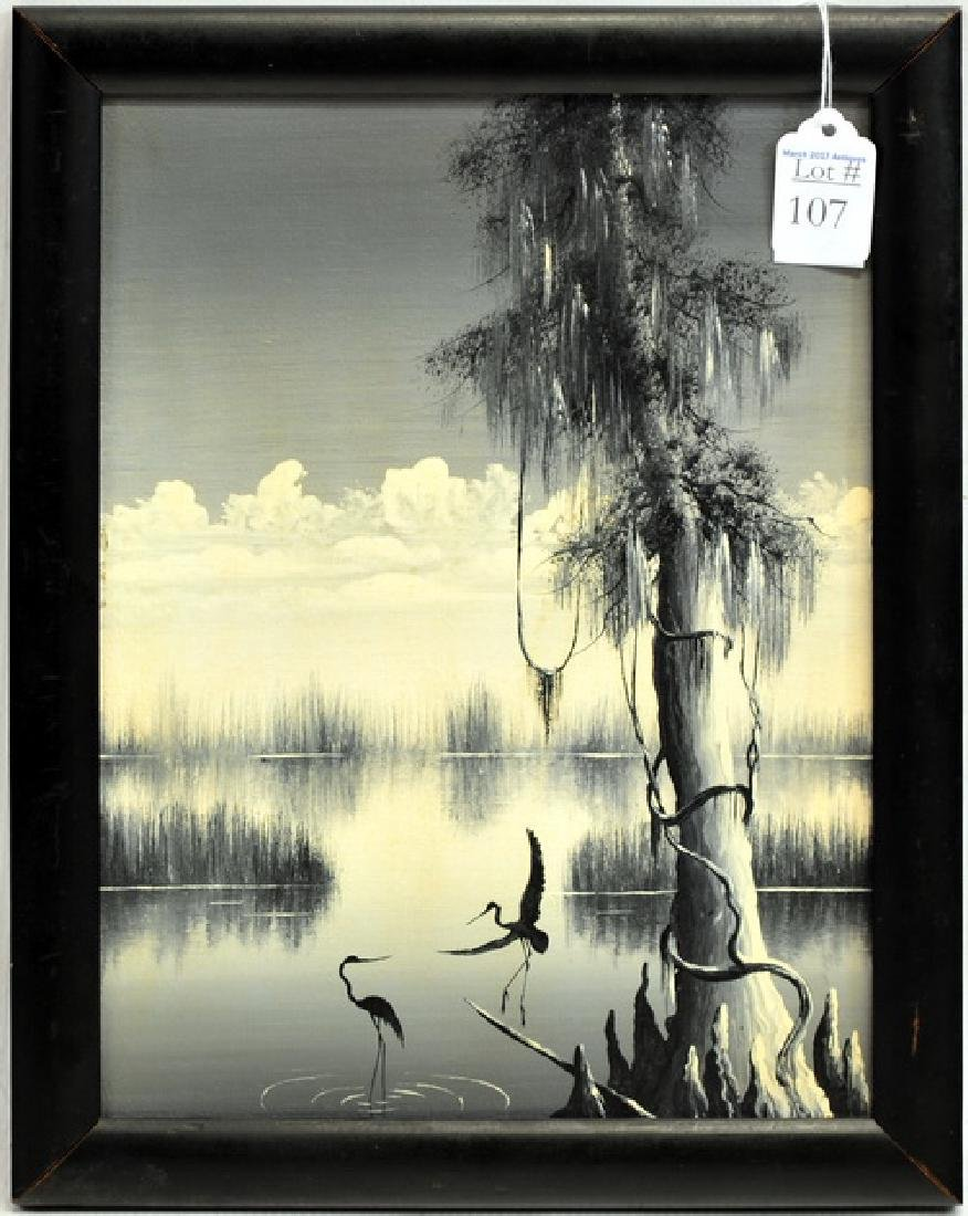 "OOB ""Louisiana Herons Avery Island"""