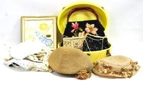 One box of Ladies items to include: