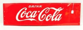 Drink Coca Cola Original Cooler Sign