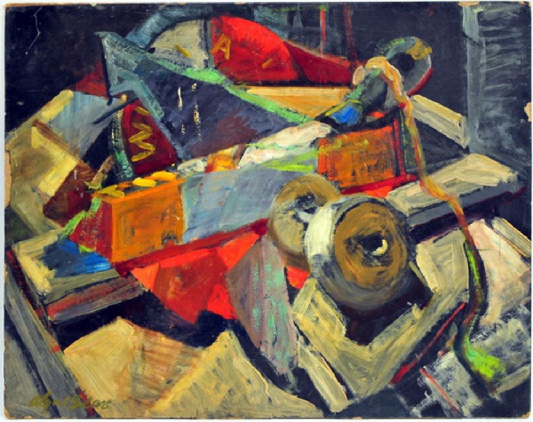 7 Unframed OOB Paintings