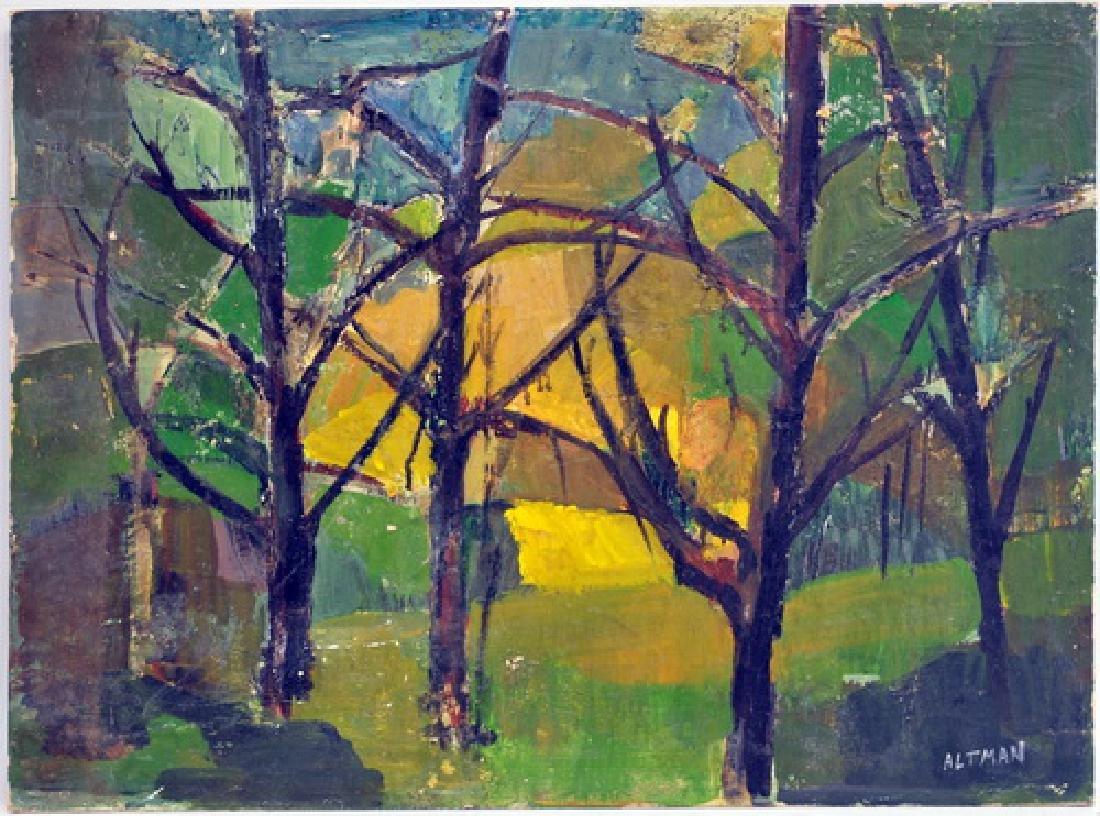 7 Unframed OOB Paintings - 4