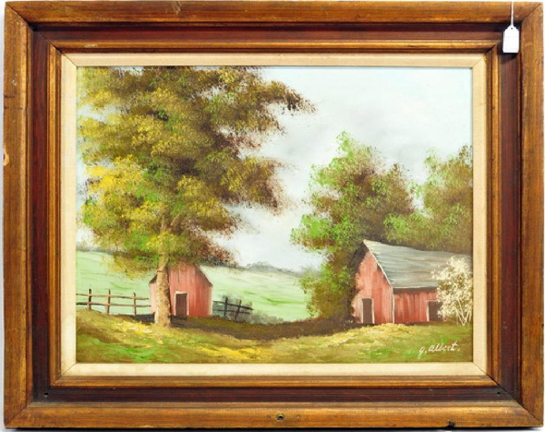 Oil on Canvas signed by G. Albert