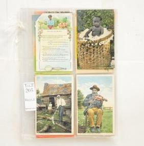 12 Black Americana Postcards Vintage/Antique