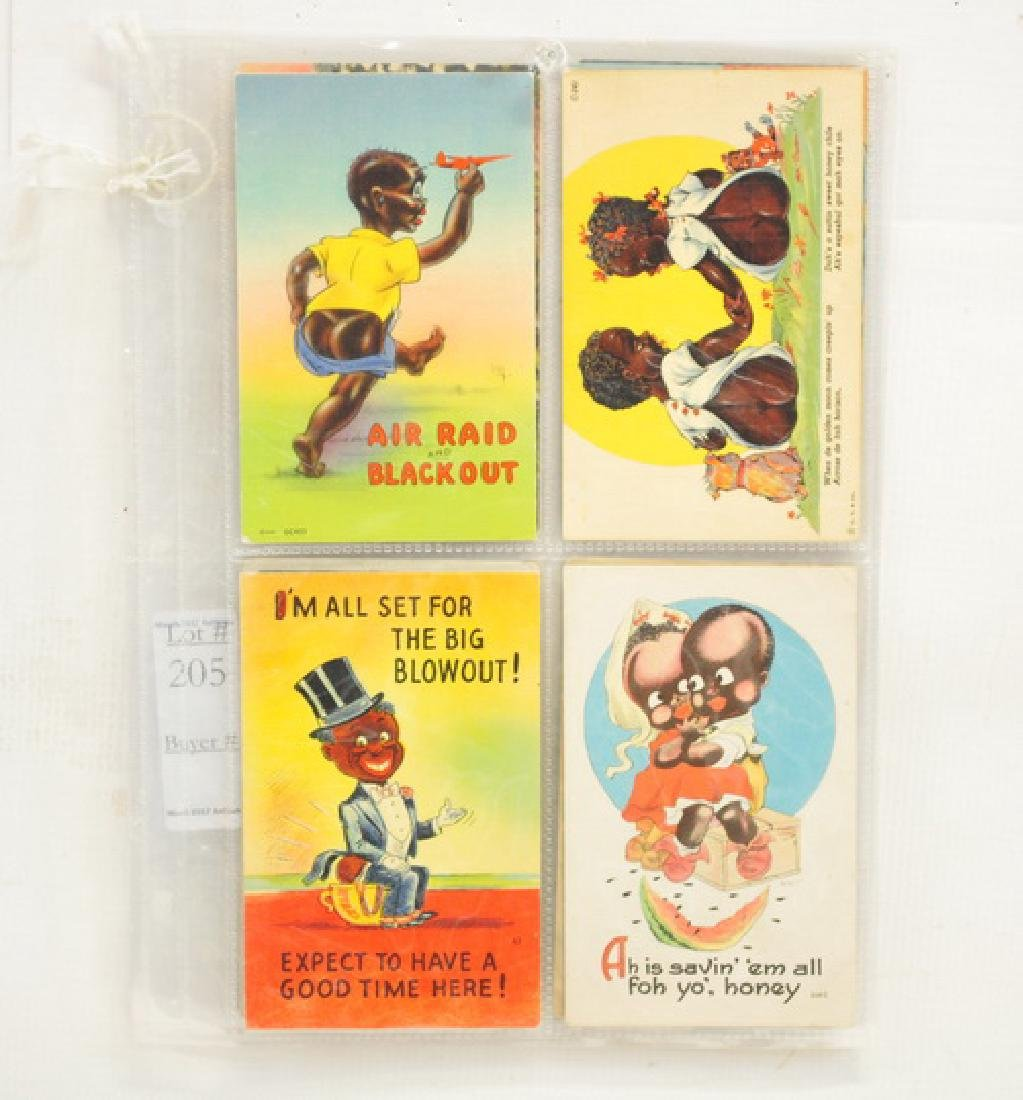12 Black Americana Postcards Vintage/Antique - 2