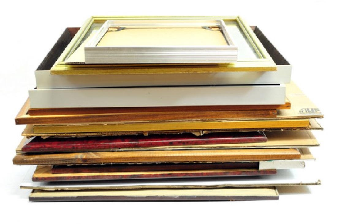 Over 75 picture frames - 2