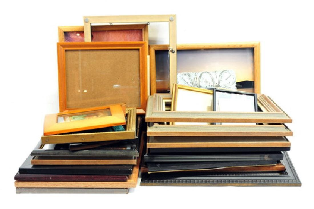 Over 75 picture frames - 3