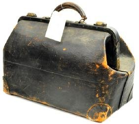 Antique Leather Doctor's Bag