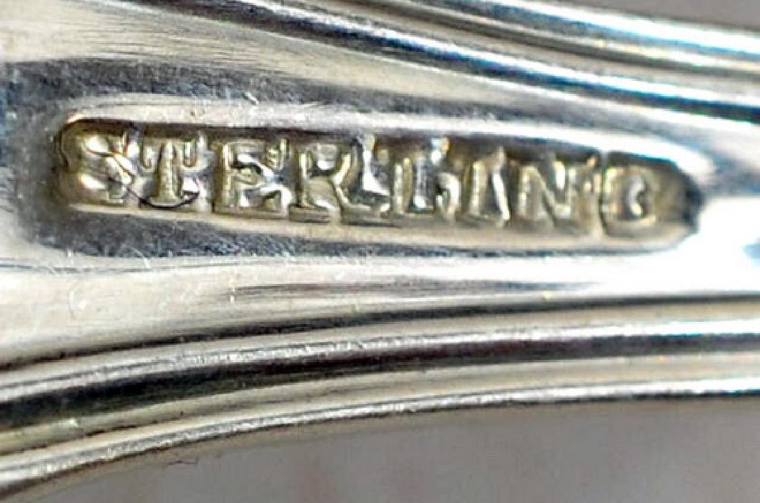 Georg Jensen Sterling Silver Flatware 103.65 OZT - 2