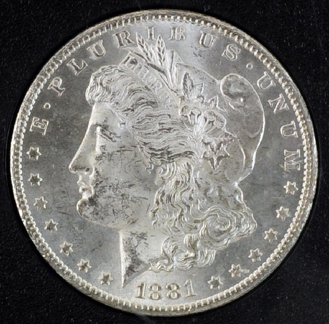 1881 CC Morgan Dollar UNC - 2
