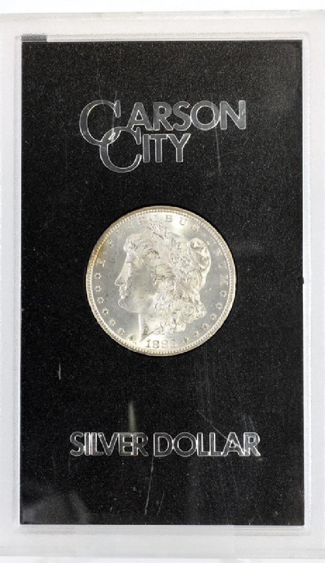 1883 CC Morgan Silver Dollar UNC