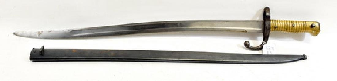 1866 French Chassepot Sword Bayonet