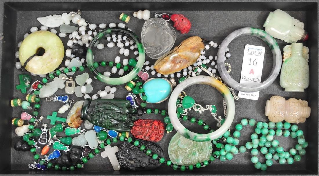 Estate Asian Jewelry/Jade