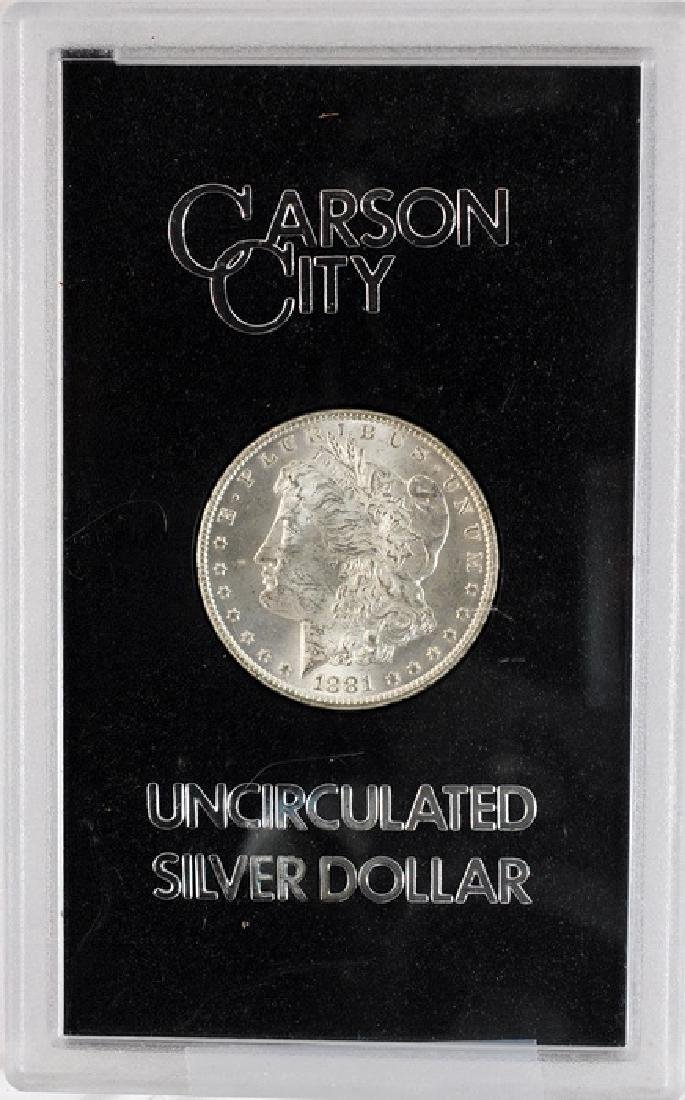 1881 CC Morgan Dollar UNC