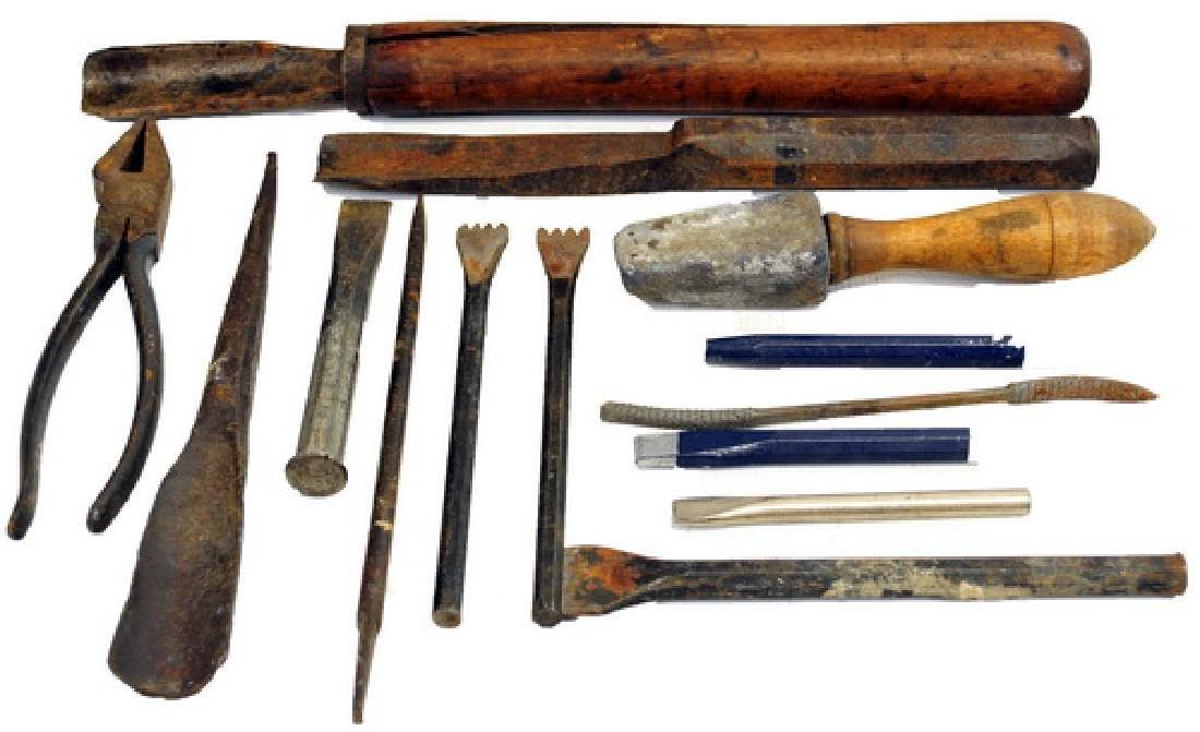Antique Carving Sculpture Tools/Exotic Wood