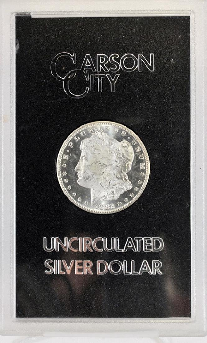 1882 CC Morgan Dollar UNC
