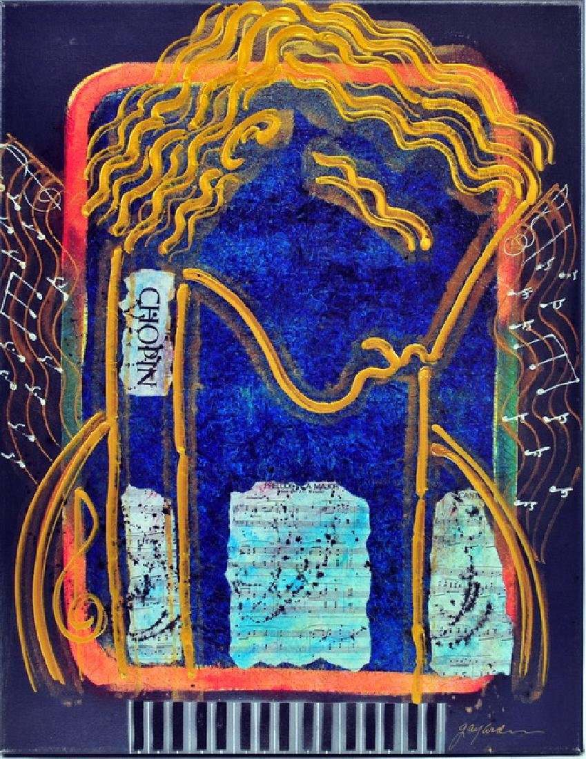 "Gaylord Soli Composer Series ""Chopin"" Mixed Media"