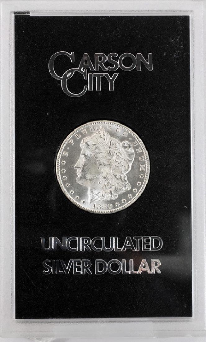 1880 CC Morgan Dollar UNC