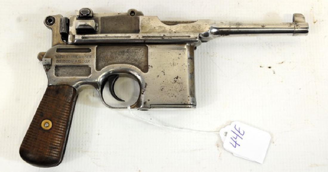 Mauser C96 Bolo Broom handle Pistol