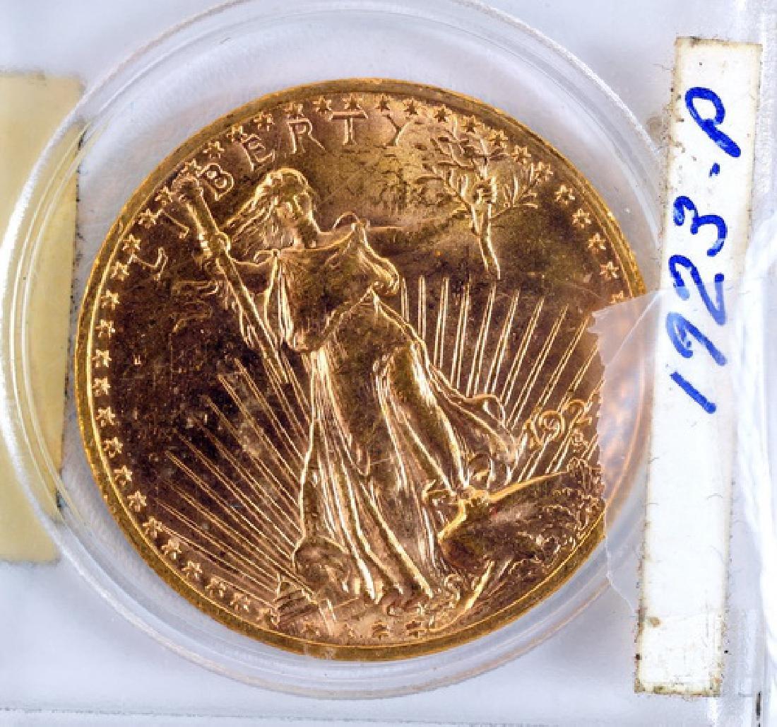 1923 P Saint Gauden Double Eagle Gold Coin