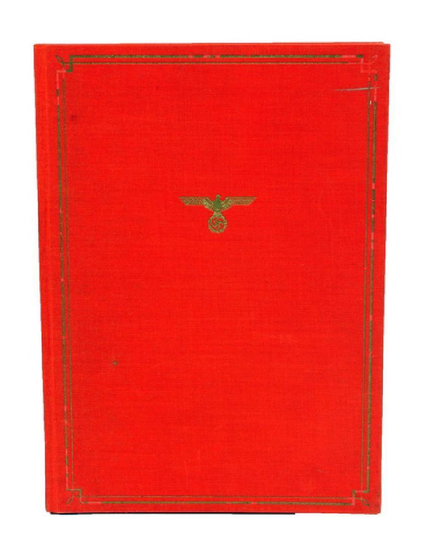 1939 Nazi Book Das Braune Haus Hardcover