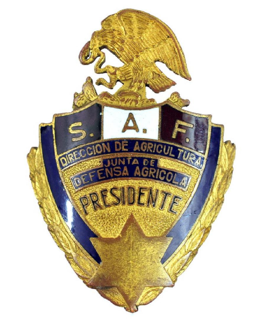 Mexico Department of Agriculture Badge