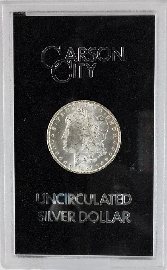1881 CC Morgan Dollar UNC