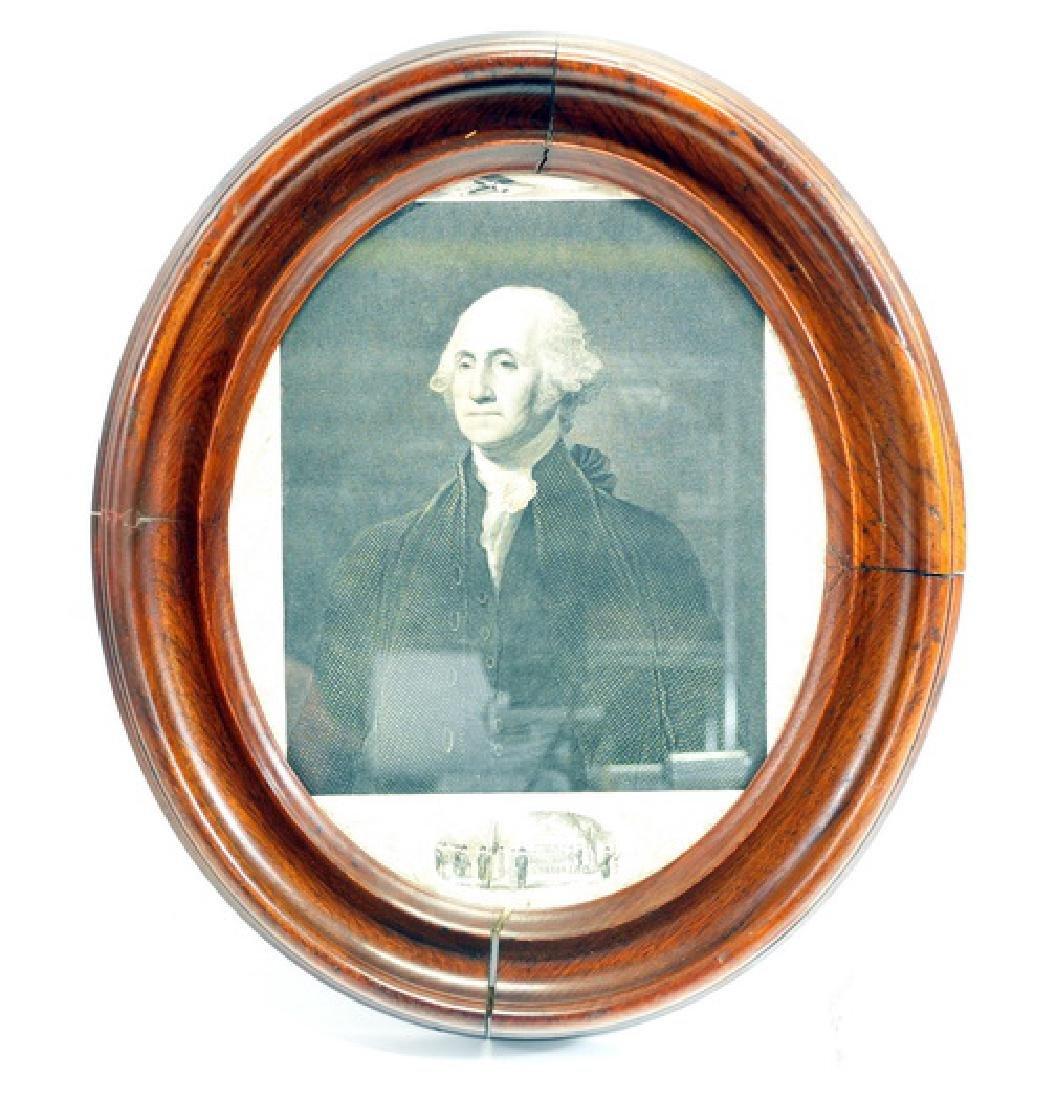 1850-1852 George Washington Engraving Original