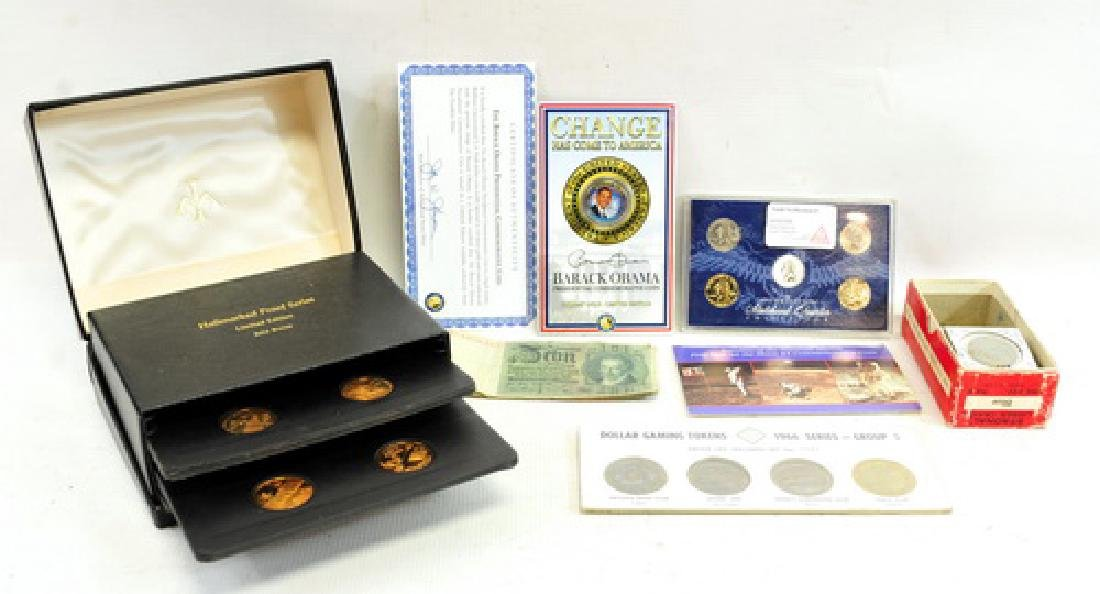 Coins/Medal Tokens US and Foreign