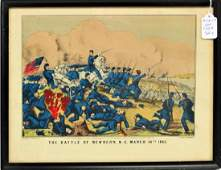 Four Currier And Ives Prints