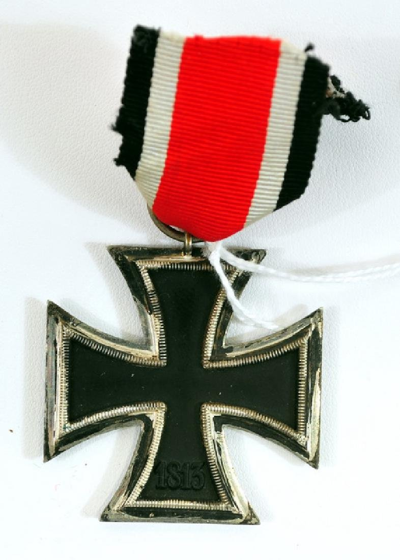 Original WWII German Iron Cross With Ribbon