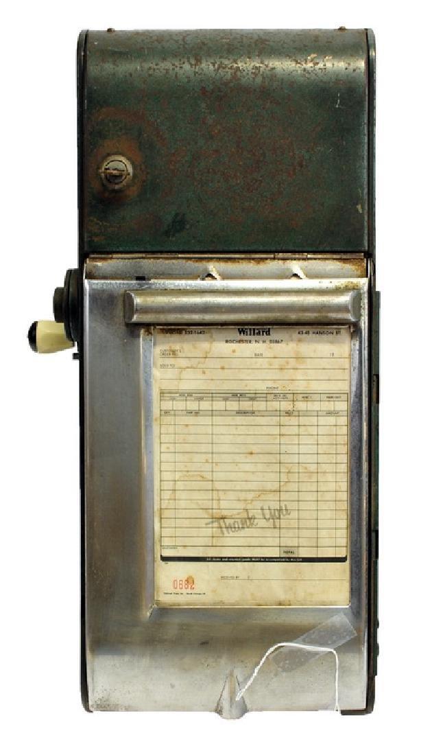Vintage Gas Station Receipt Machine