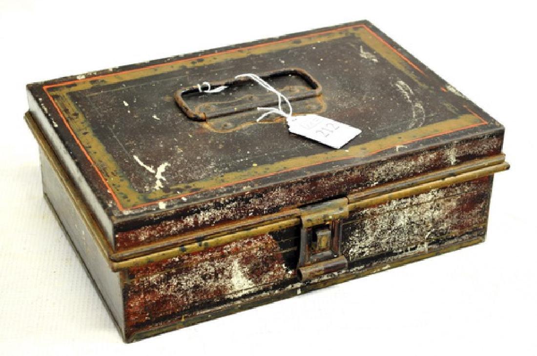 Antique Kreamer Tin Spice Box