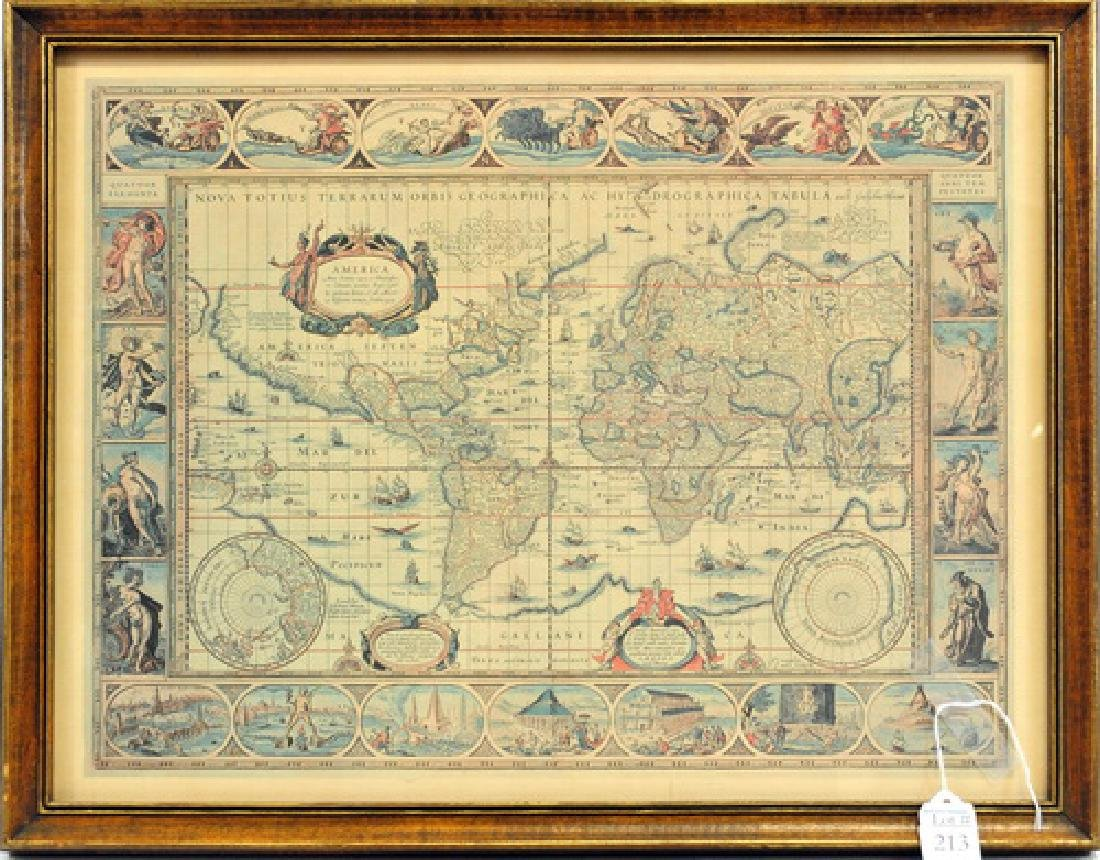 Antique Nova Totius Hydrographica Tabula