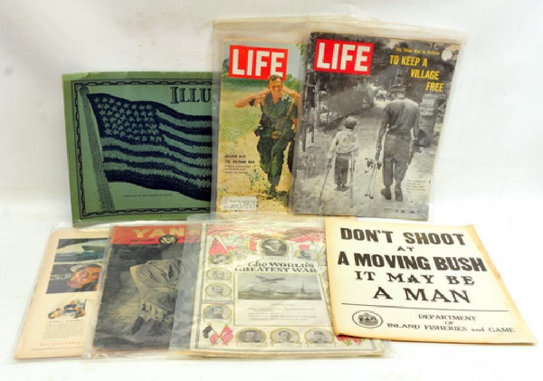 WW I, WW II, Vietnam ephemera