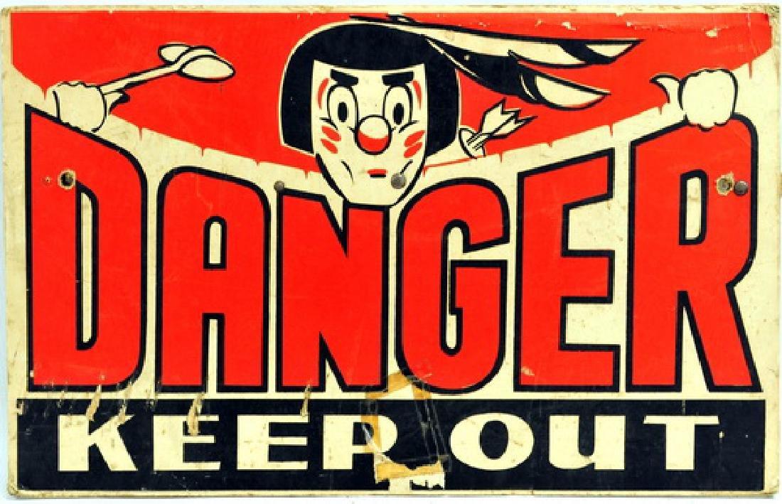 Pair of Vintage Advertising Signs