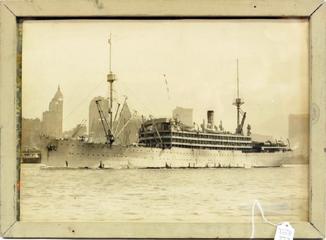 Original Photo USS Henderson WWI