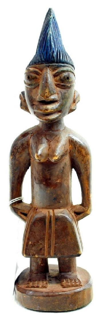 African Artifact  Twin Doll