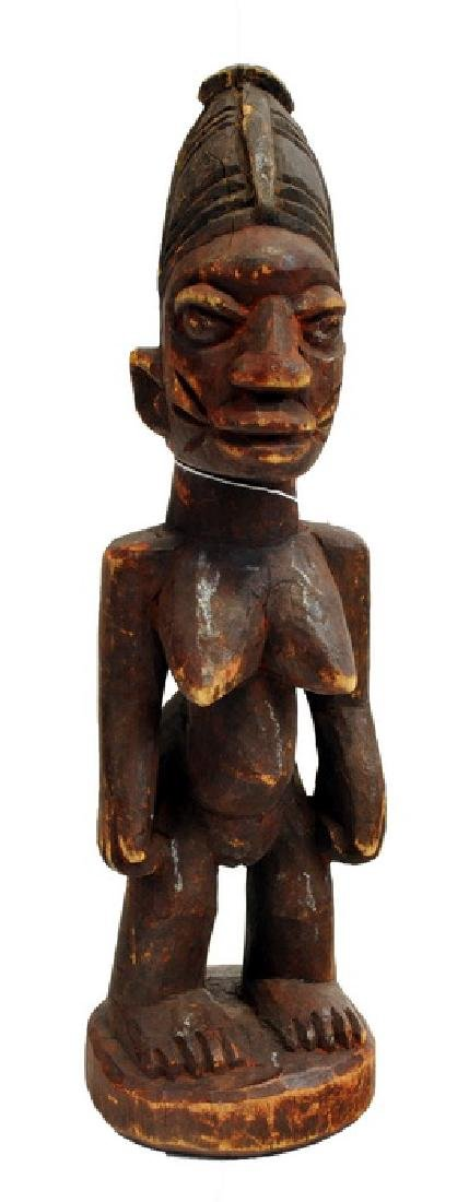 African Artifact   Carved Doll