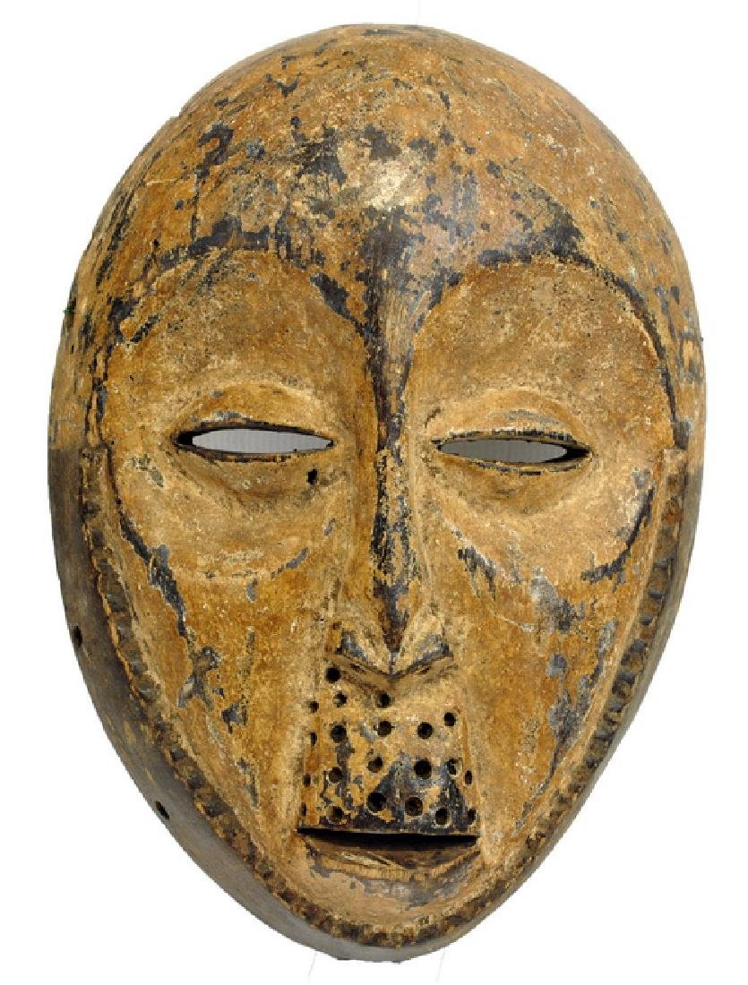African Artifact Initiation Mask Gabon