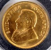 1981 South African 1/2 OZT Krugerrand Gold Coin