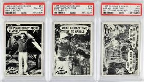 5 1965 Gilligan's Island Psa High Graded Cards