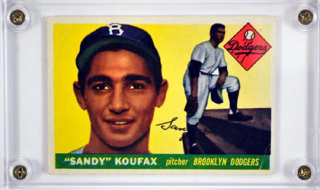 1955 Topps Sandy Koufax Rookie Card