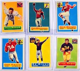 43 1956 Topps Football Cards