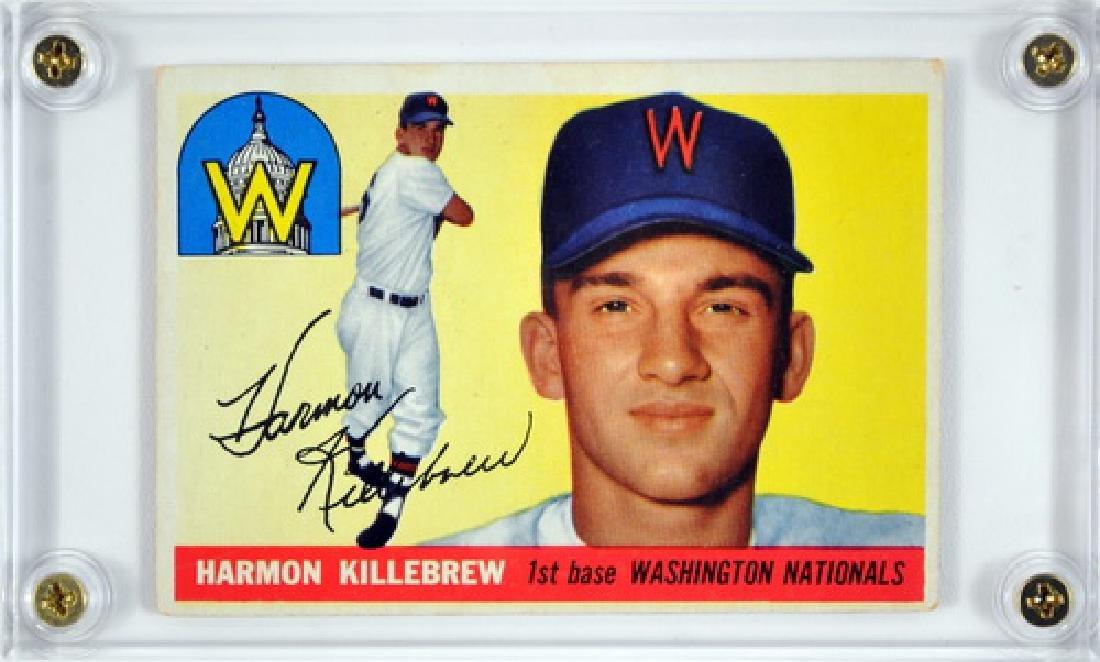 1955 Topps Harmon Killebrew Rookie Ungraded