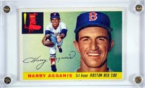 1955 Topps Harry Agganis Rookie Card